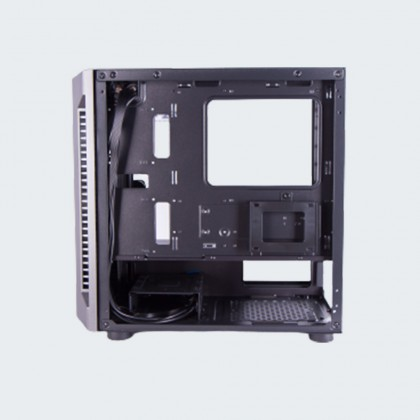 Armaggeddon Tessaraxx Core 1 MATX Gaming PC Case with RGB Lightning Effect   Strong Compatibility   Free Colour Fan
