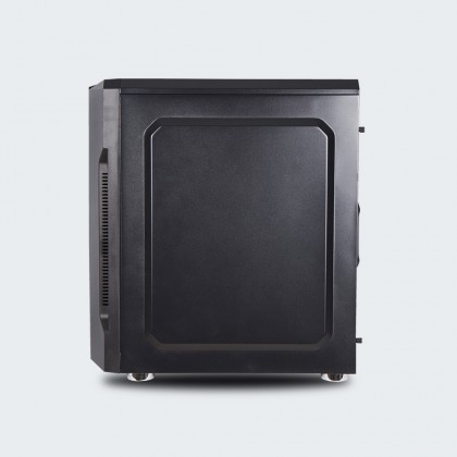 Armaggeddon Tron III ATX Gaming PC Case with Tempered Glass Side Panel Design [Free PC Cooling Fan]