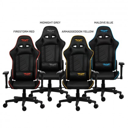 Armaggeddon Shuttle II Premium PU Leather Ultimate Gaming Chair   Cold-Cure Moulded Foam