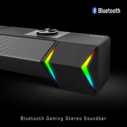 Armaggeddon X-Bar 2 Detachable Gaming Stereo SoundBar | Bluetooth | Aux-IN | RGB Lightning Effects | Low Distortion